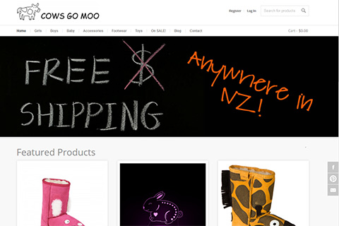 cows-go-moo website