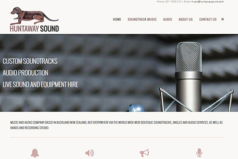huntaway sound website