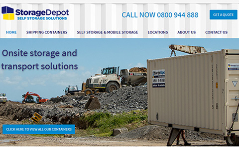 storage depot website