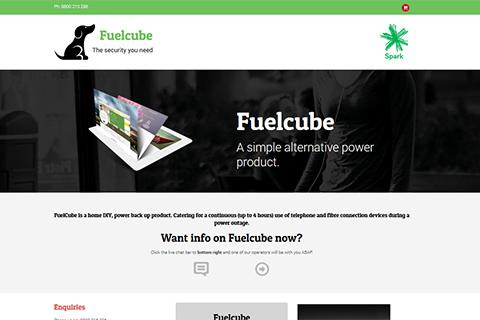 fuelcube website