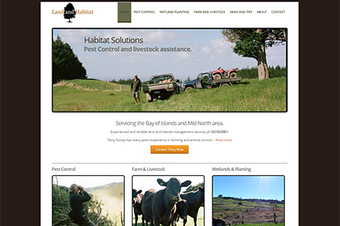 landandhabitat website