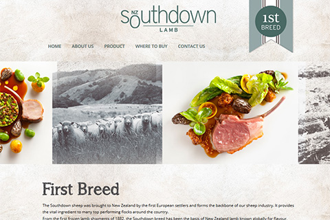 southdown lamb website